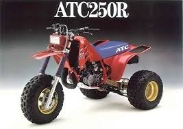 Honda ATC250R ATC 250R 1985 1986 ATV Shop Service Repair Manual