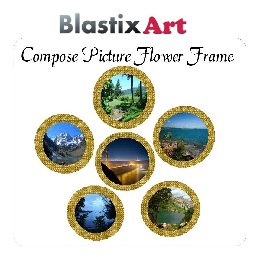 A Compose Flower Frame