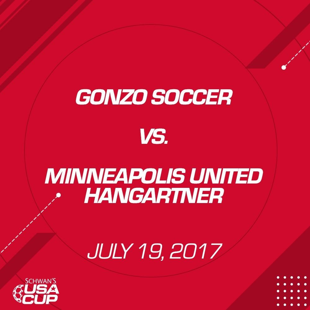Girls U14 Silver - July 19, 2017 - Gonzo Soccer vs Minneapolis United Hangartner