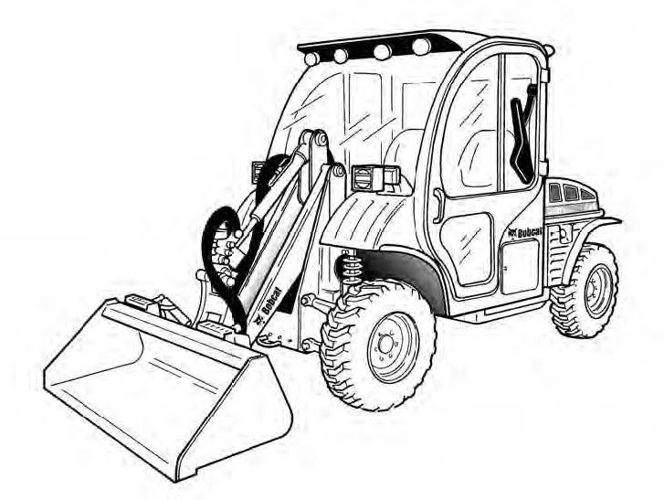 Bobcat Toolcat 5610 Utility Work Machine Service Repair Manual Download(S/N APFB11001 & Above)