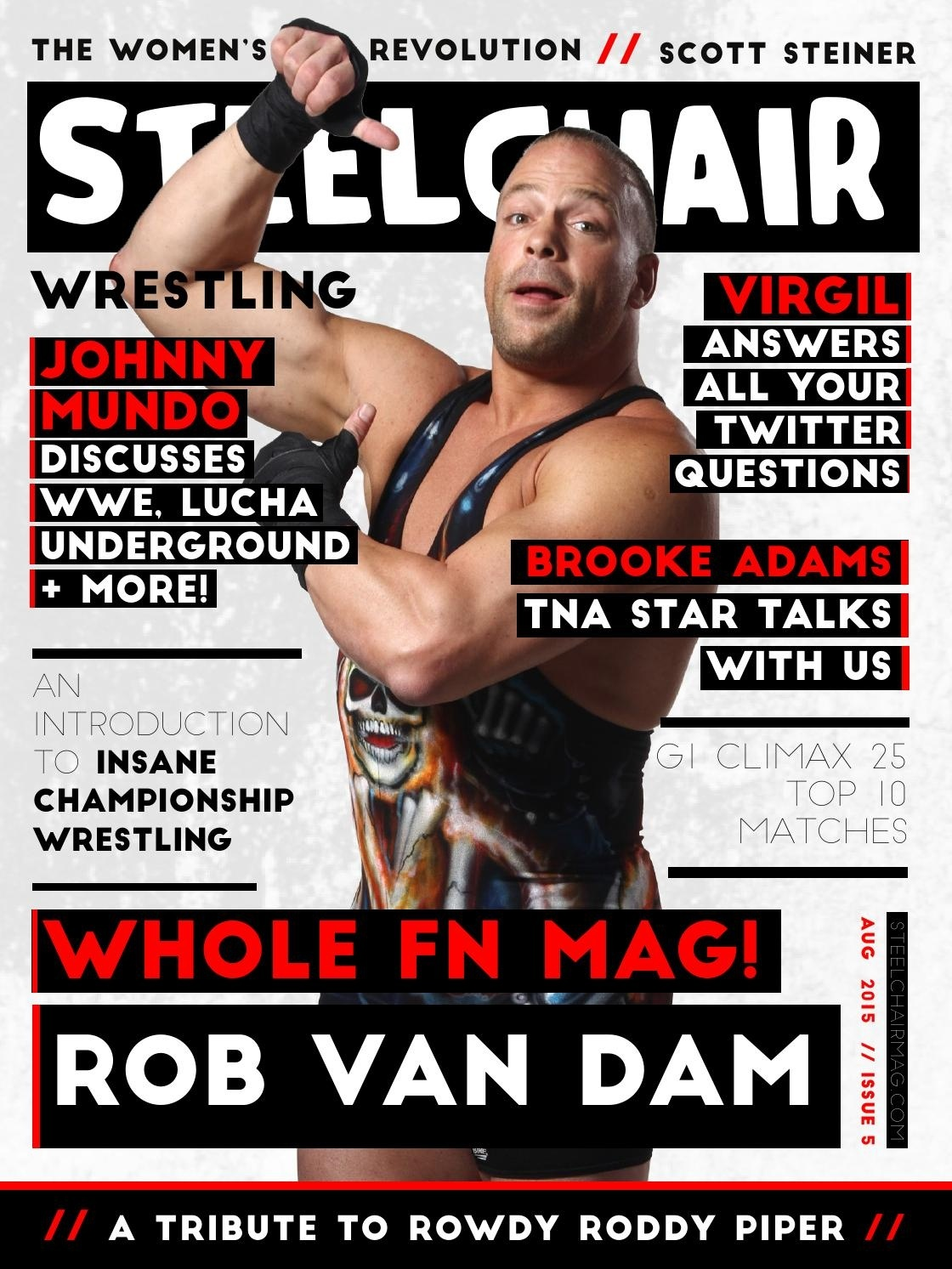 Steelchair Wrestling Magazine #5