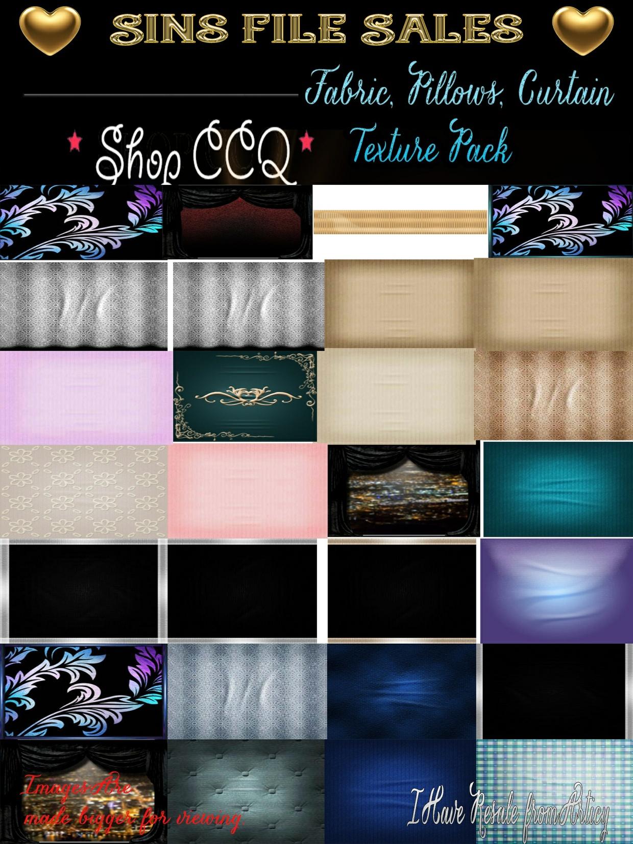 Fabric Pillow Texture Set