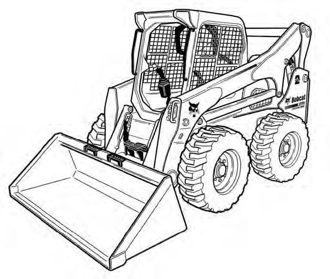 Bobcat A770 All-Wheel Steer Loader Service Repair Manual Download 3