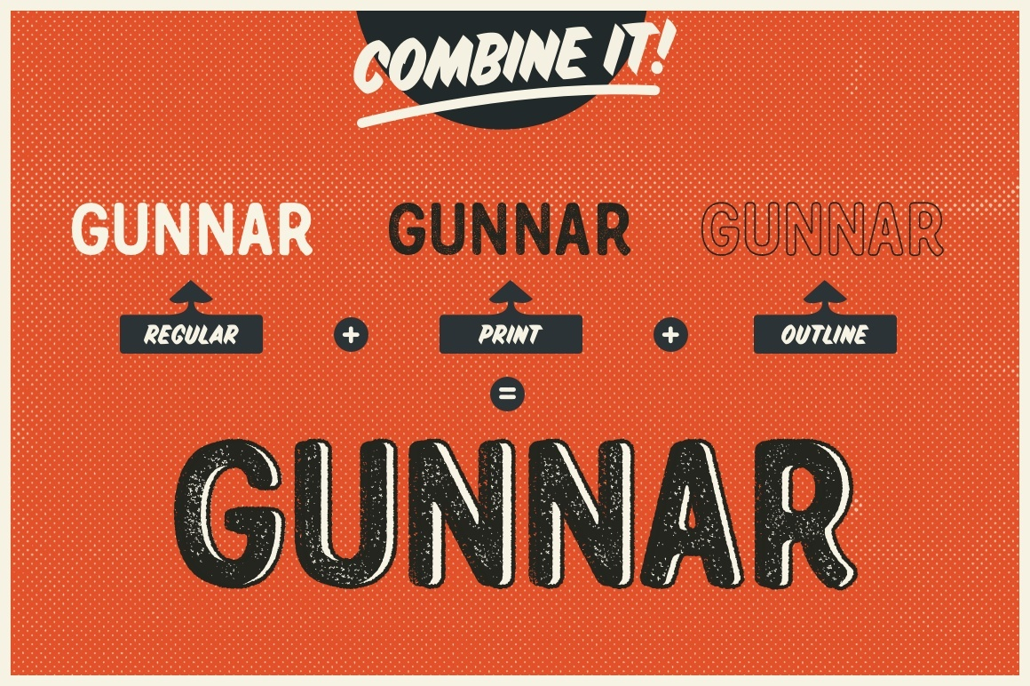 Gunnar - The typeface