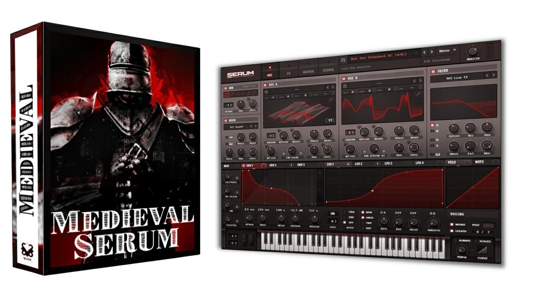 Medieval Serum - 64 Multi-Genre HEAVY presets + Wavetables
