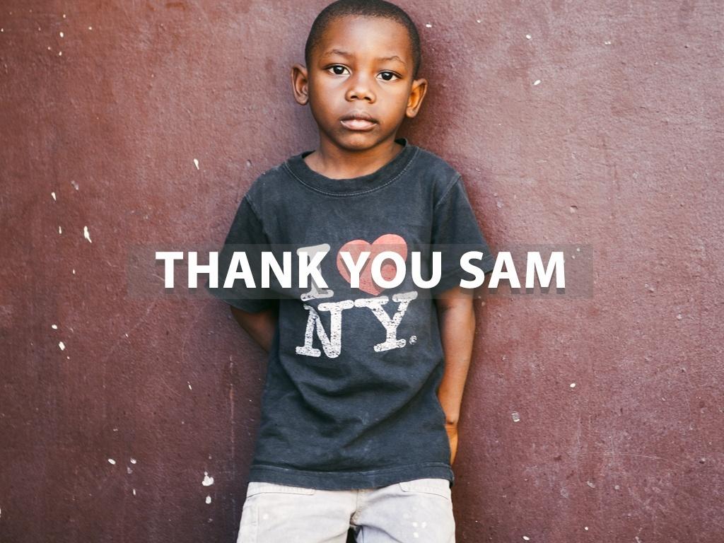 """Thank You Sam"" Lightroom Preset"