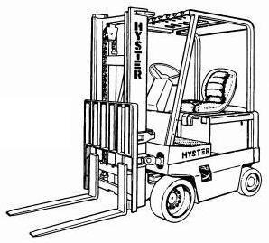 Hyster Forklift B168 Series: J2.00XL (J40XL), J2.50XL (J50XL), J3.00XL (J60XL) Spare Parts List, EPC