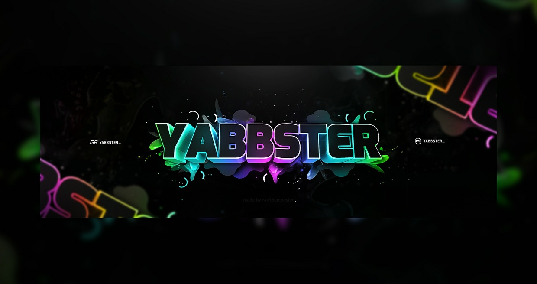 Yabbster Header PSD+C4D