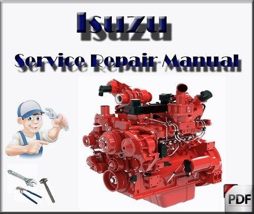 JCB Isuzu Engine A-4JG1 Service Repair Workshop Manual
