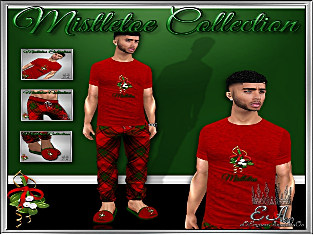 Mistletoe Male Collection with Re-Sell Rights!!!