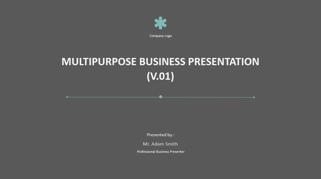 [Animated] Multi-Purpose Presentation Template