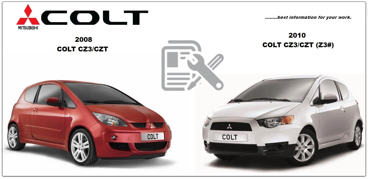 Mitsubishi Colt 2008 & 2011 Workshop Manual