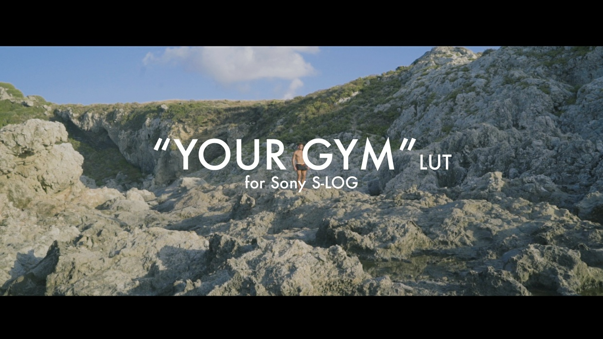 """""""Your GYM"""" LUT for Sony S-Log"""