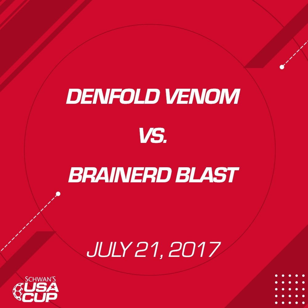 Girls U19 Gold - July 21, 2017  - Denfold Venom vs Brainerd Blast