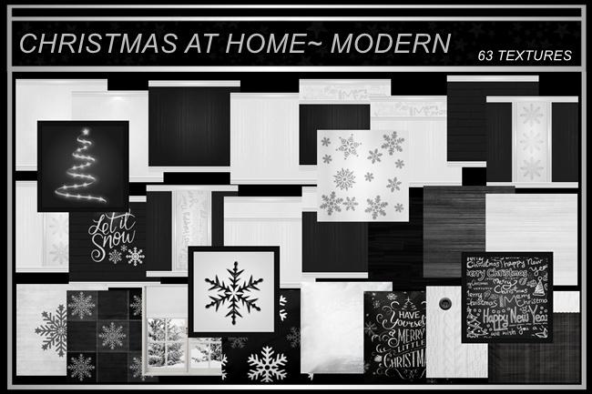 CHRISTMAS AT HOME~MODERN