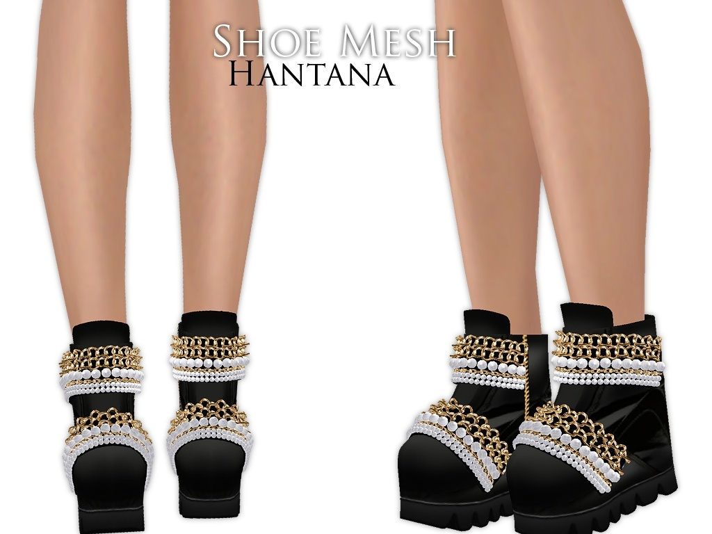 IMVU Mesh - Shoes - Hantana