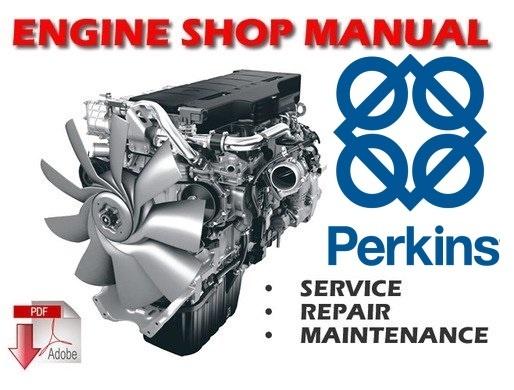 Perkins V8.640 and TV8.640 Diesel Engines Workshop Service Manual