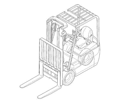 Mitsubishi FB10KRT FB12KRT FB15KRT PAC Forklift Trucks Service Repair Manual Download
