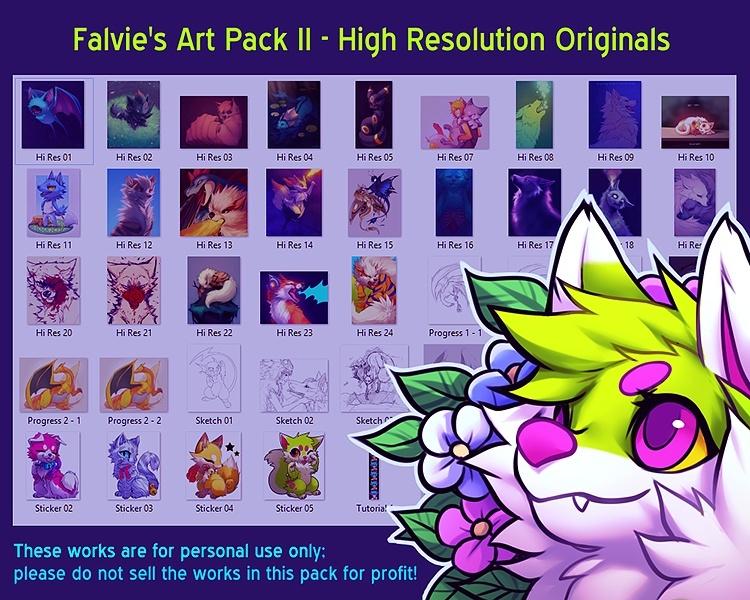 Falvie's Art Pack II