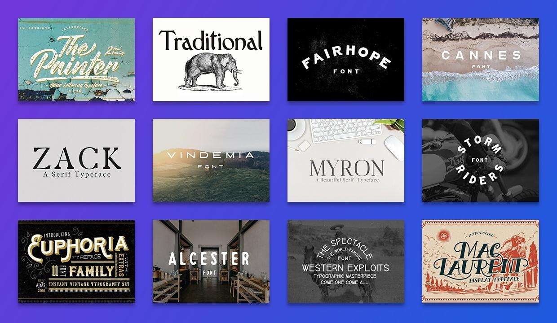 Inspirational Typography Kit