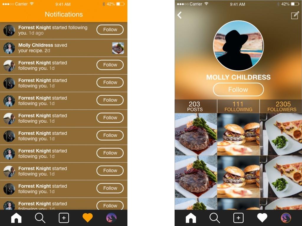 Adobe Xd Mobile iOS App Design