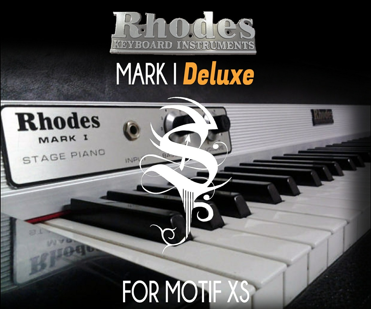 Rhodes Mark I Deluxe For Motif XS