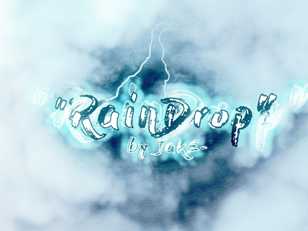 """""""RainDrop"""" AE + SFX pack [Project Files]"""