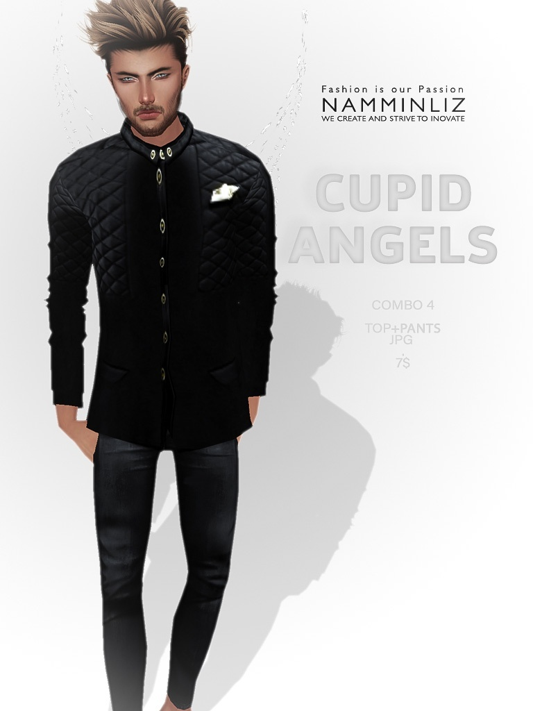 Cupid Angels combo4 (Top+ Pants) JPG textures