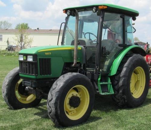 John Deere 5403, 5600, 5603, 5605, 5700 and 5705 Brazil Tractors Repair Service Manual (tm8139)