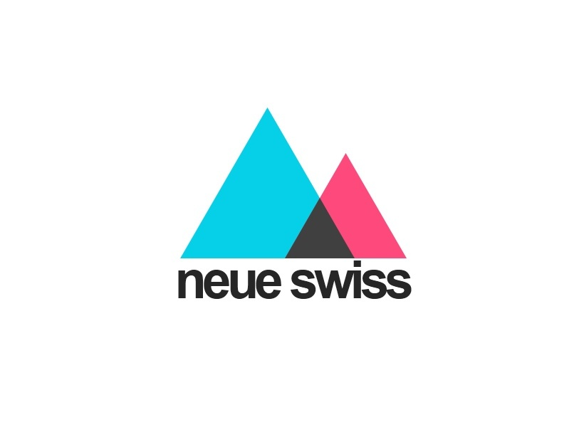 Neue Swiss Style PowerPoint Presentation Template