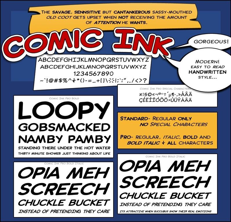 Comic Ink Pro