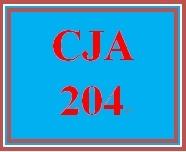CJA 204 Week 3 Court System Visuals
