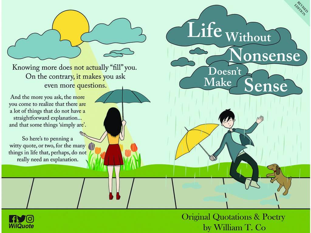 Life Without Nonsense Doesn't Make Sense