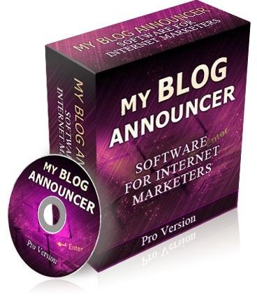 My Blog Announcer - Software