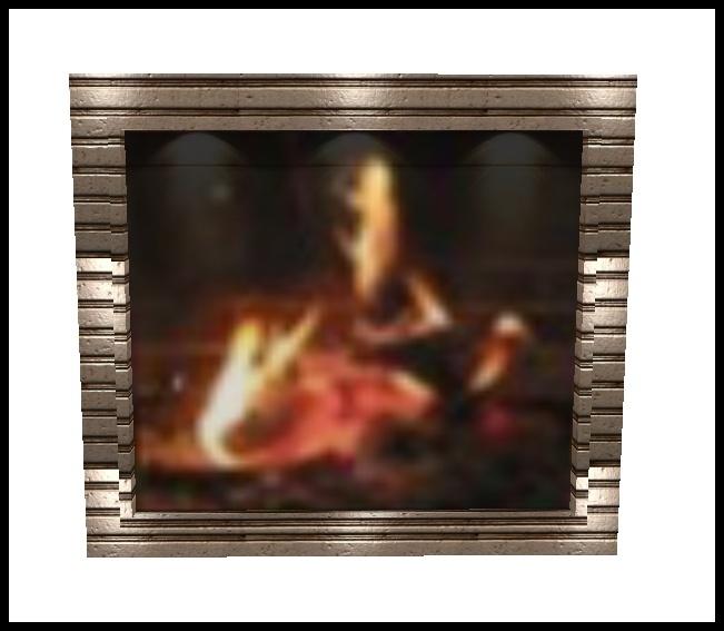 Chimney  Frame  For  Christmas