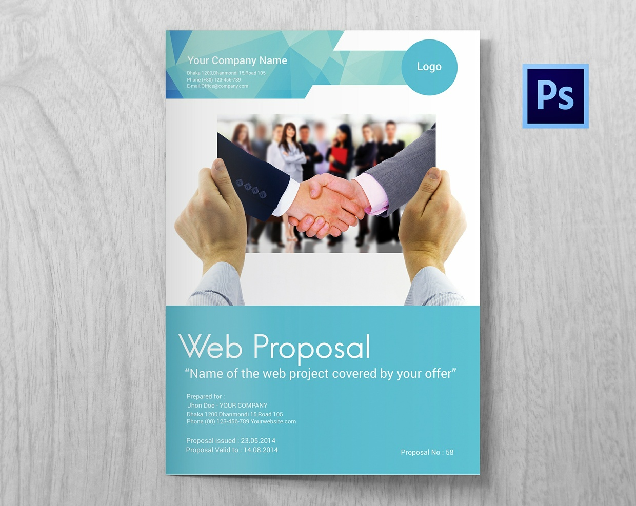 proposal on website design and your