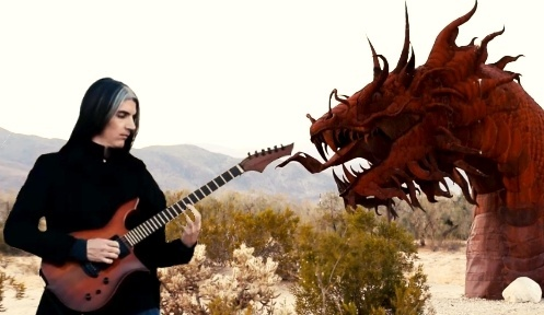 """Dragon of the Desert"" - Dan Mumm - Song, Guitar Tab and Backing Track 2018"