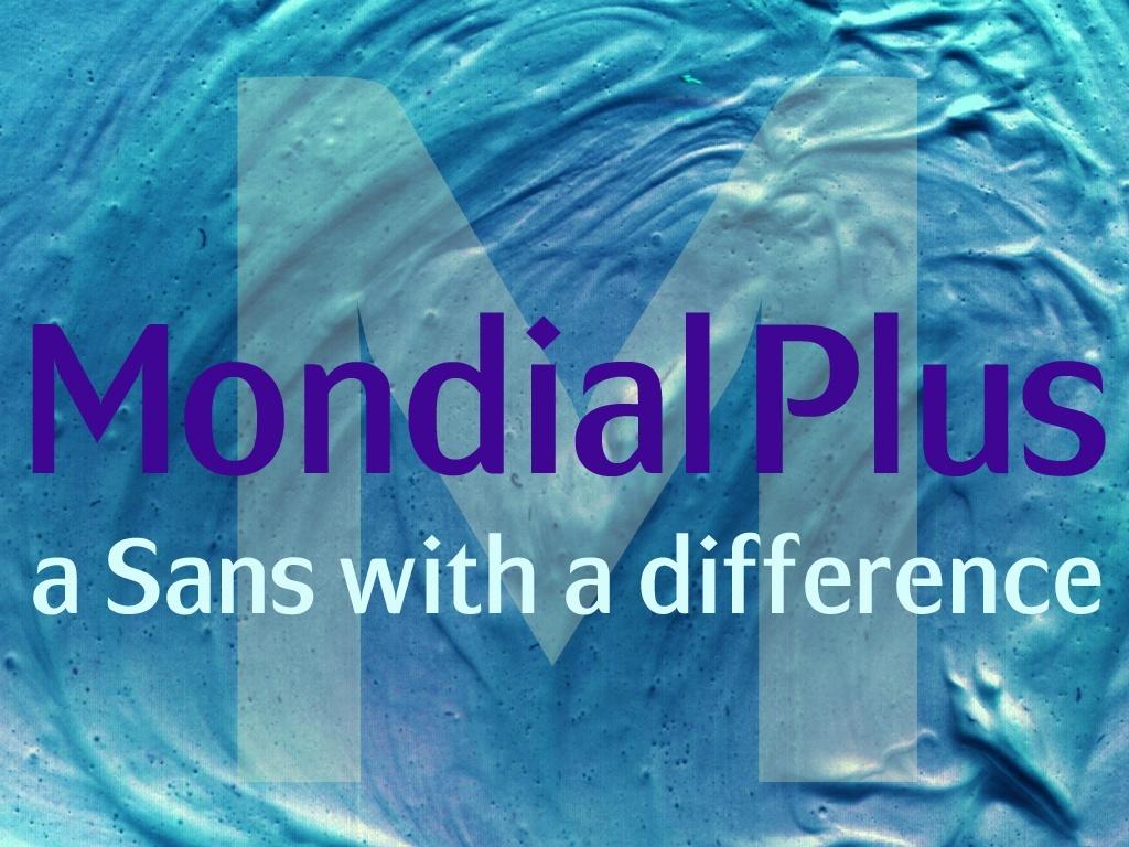 Mondial Plus Fonts
