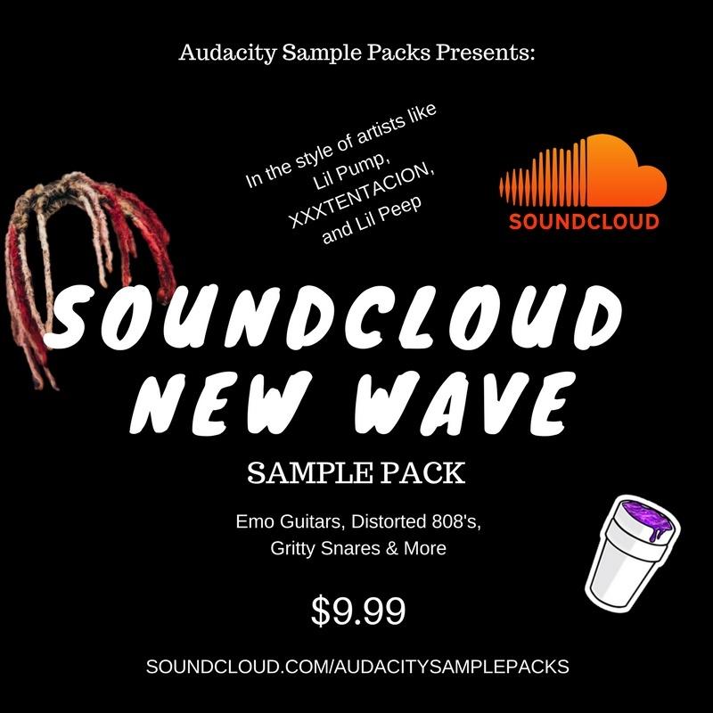 Soundcloud New Wave Sample Pack
