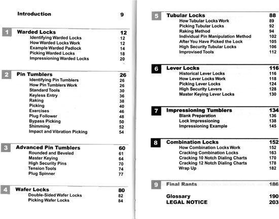Visual Guide to Lock Picking - Warded Locks, Pin Tumbler Locks, Wafer Locks