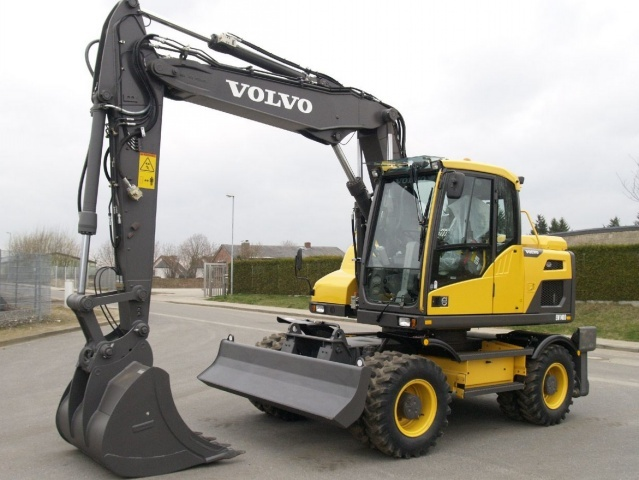 VOLVO EW140D WHEELED EXCAVATOR SERVICE REPAIR MANUAL - DOWNLOAD