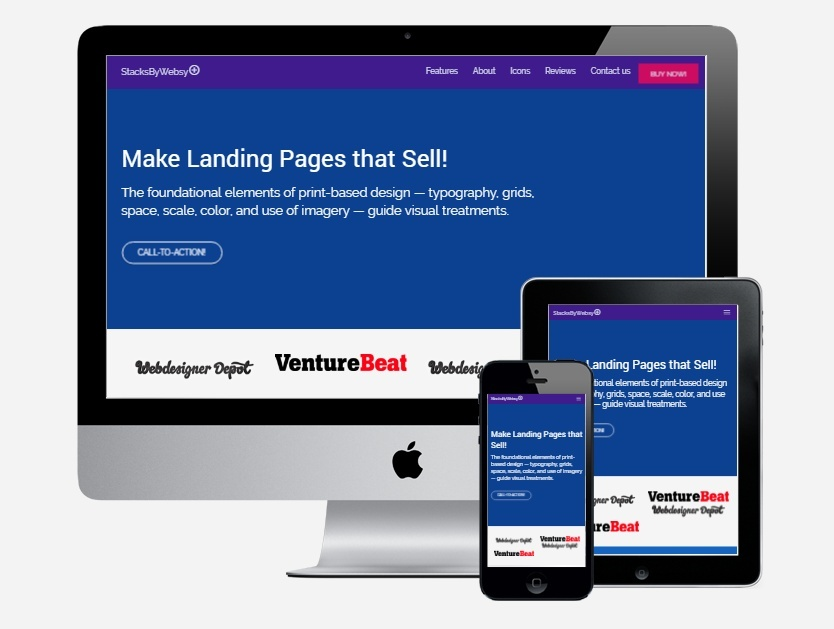 Bootstrap Material Design Templates Bundle