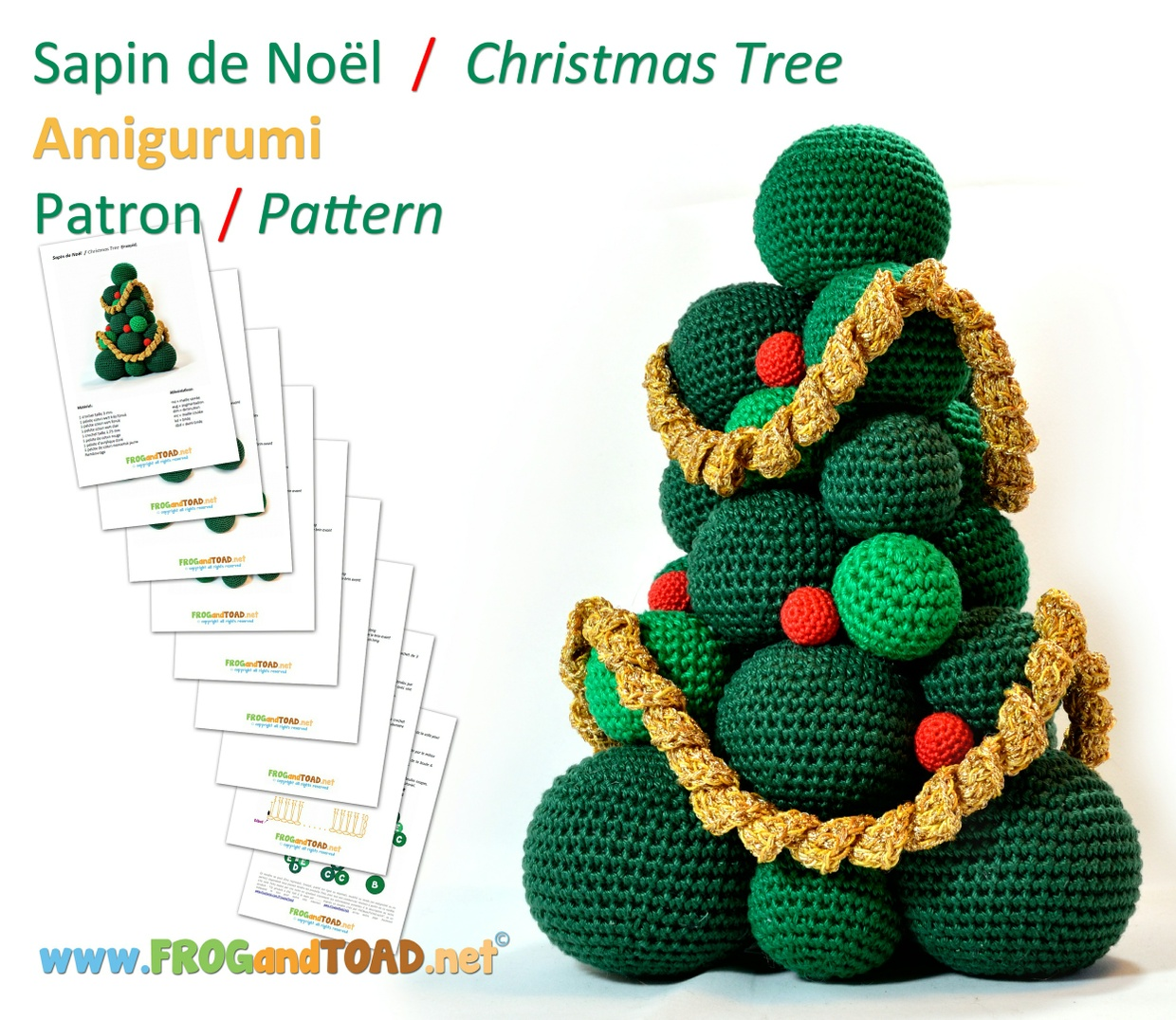 Sapin de Noel - Christmas Tree - Weihnachtsbaum - Albero di Natale - FROGandTOAD Créations ©