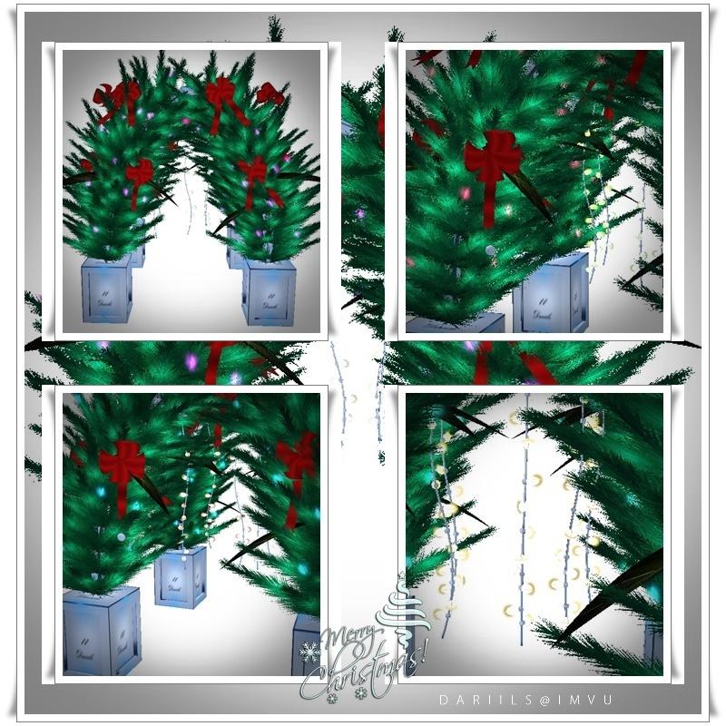 [D2017]Mesh_pavilion_christmas Decor
