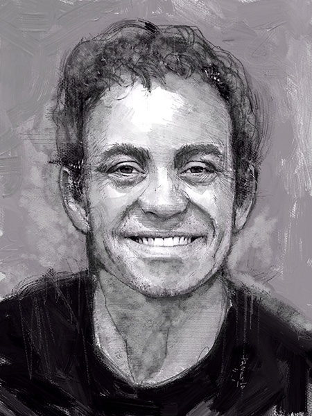 David Gasser - Portrait Drawing - USD3 only ! Get yours now!:)