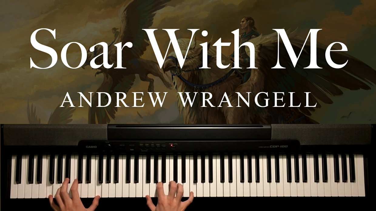 Soar With Me Piano Sheet Music (by Andrew Wrangell)