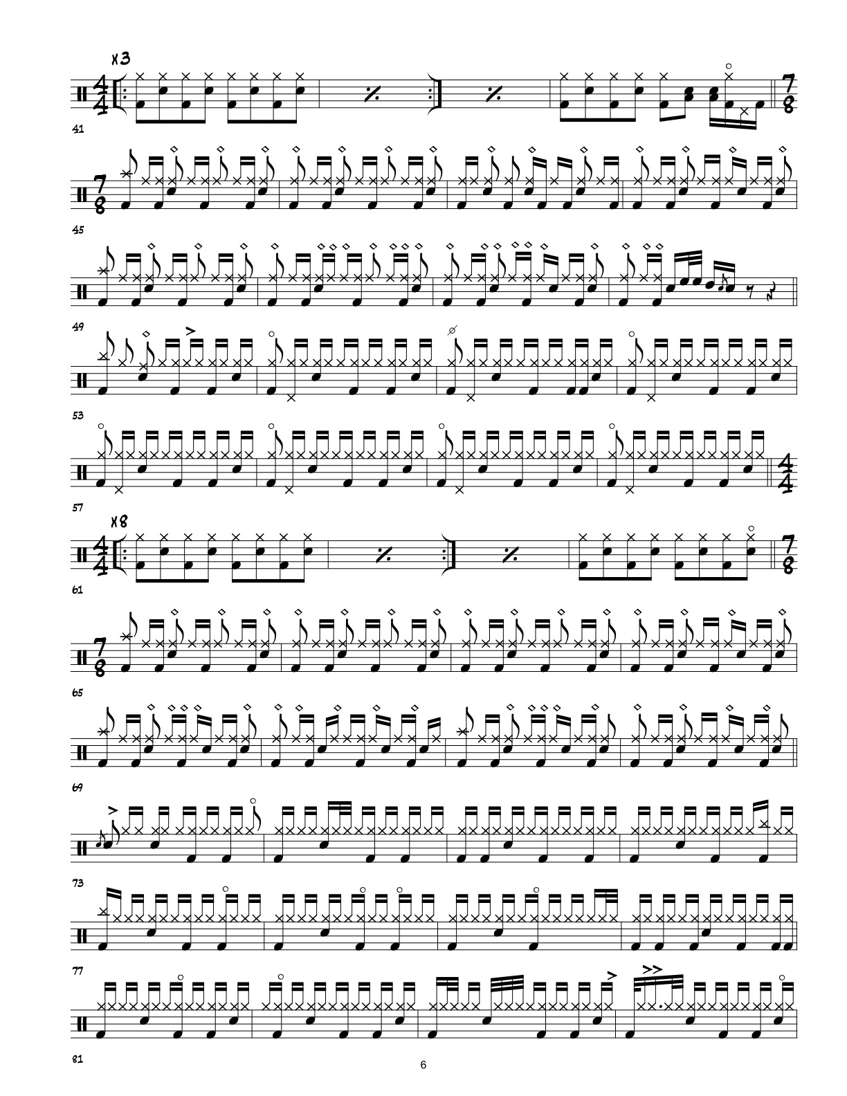 3 Vinnie Colaiuta Drum Transcriptions