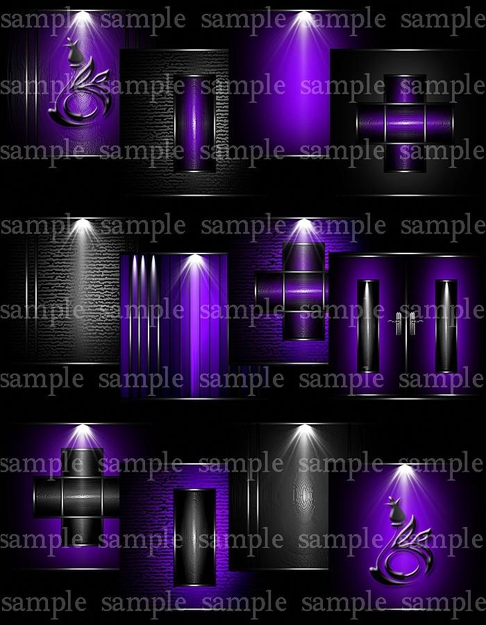 Cosmic Purple Pack