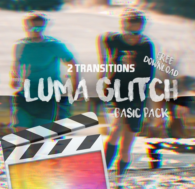Luma Glitch [3D] Transitions - Final Cut Pro X | Basic Pack