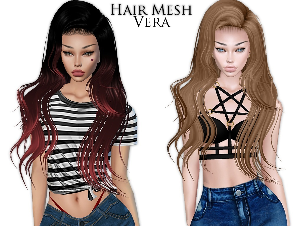 IMVU Mesh - Hair - Vera